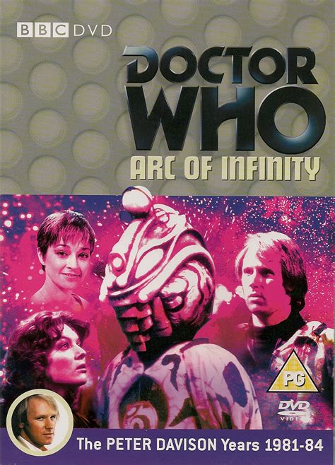 dr who arc of infinity image arc of infinity uk dvd jpg doctor who collectors