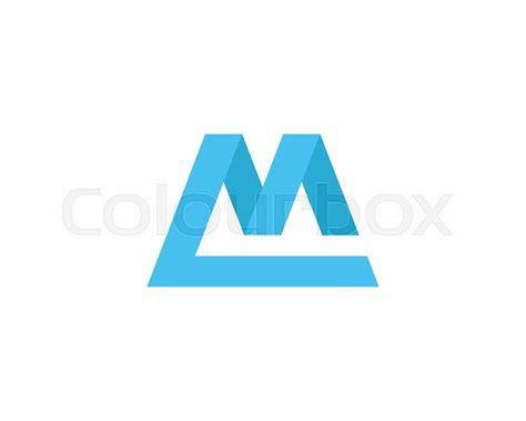 letter logo design template element stock vector