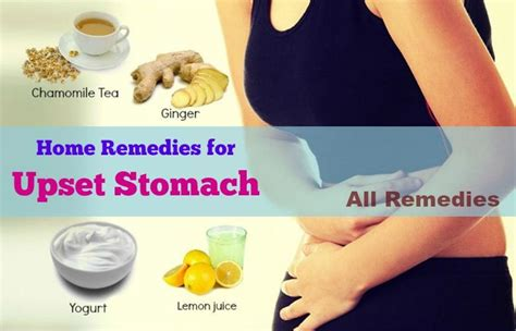 19 home remedies for upset stomach nausea in adults
