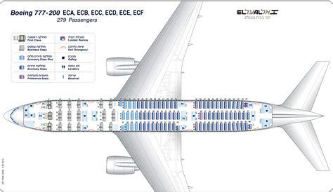boeing 777 300er jet seating plan unsere el al flotte el al airlines