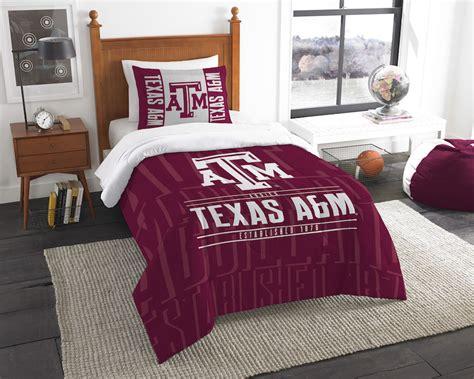 texas a m comforter ncaa texas a m aggies twin comforter set buy at team