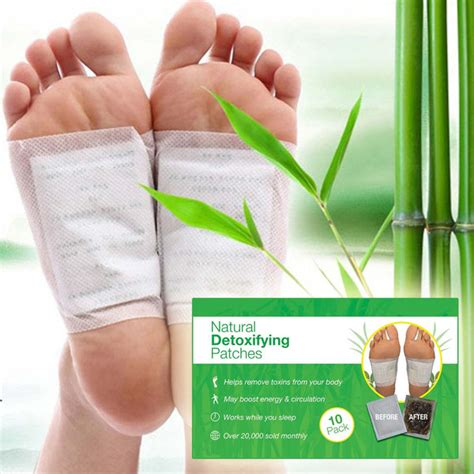 Detox Foot Pads Smell by Foot Detox Patches 10 Pieces