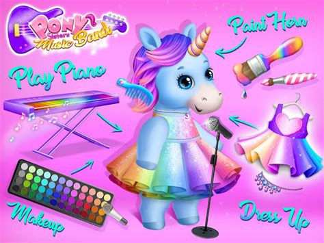 pony sisters pop  band play sing design apk