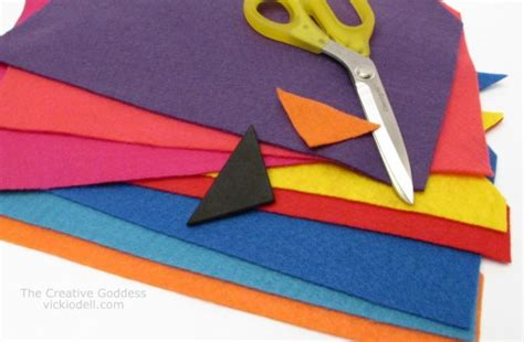felt kite pattern how to make a felt quot kite tail quot garland for spring decorating