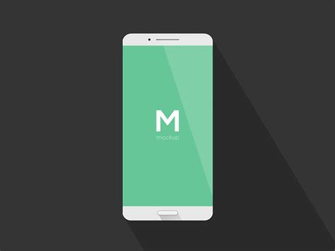 simple phone mockup freebie download photoshop resource