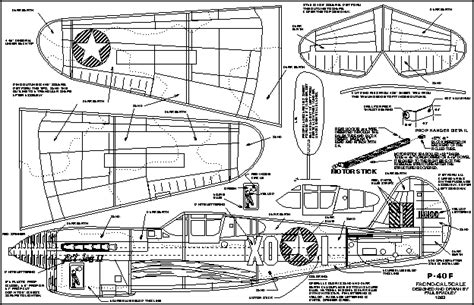 free rc plans wwii no cal free flight plans rc groups