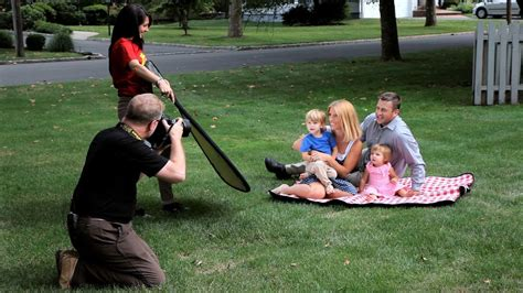 how to shoot family portraits outdoors portrait photography