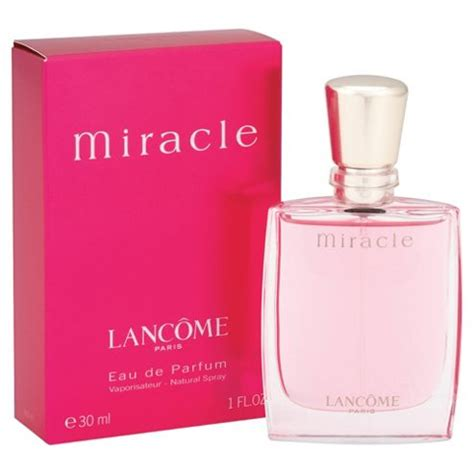 Lancome Miracle 30ml buy lancome miracle eau de parfum spray 30ml from our