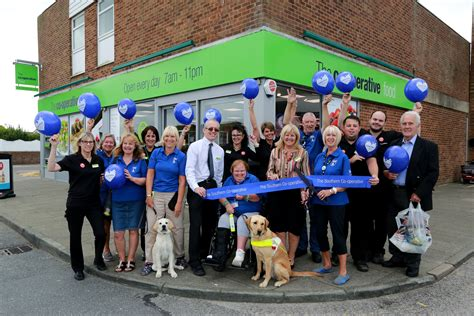 dogs 2 co op eastbourne guide dogs open new southern co op store in eastbourne and receives 163 500
