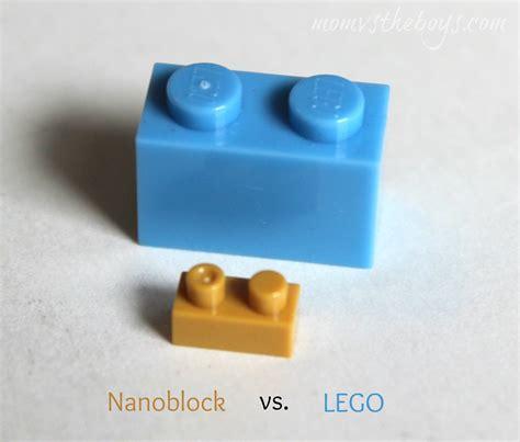 Lego Nano Block nanoblocks micro building sets vs the boys