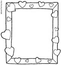 bff picture frames coloring page tesetturme sketch template