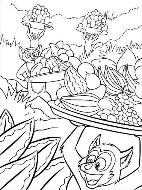 madagascar island coloring page madagascar coloring pages download and print madagascar