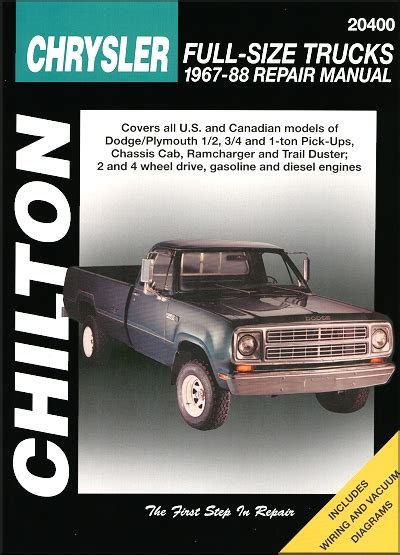 what is the best auto repair manual 1967 ford country user handbook ramcharger trail duster repair manual 1967 1988 chilton 20400