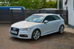2013 new model audi a3 s line 1 6 tdi glacier white 163 0 tax