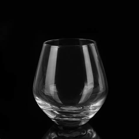 luxury wine glasses luxury high quality stemless wine glass