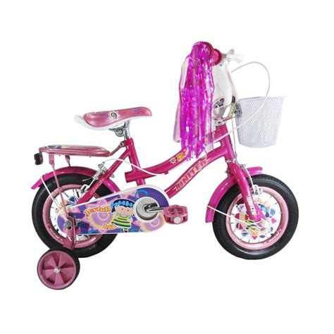Roda Bantu Sepeda Anak United jual united joyfull sepeda anak pink 12 inch harga kualitas terjamin blibli