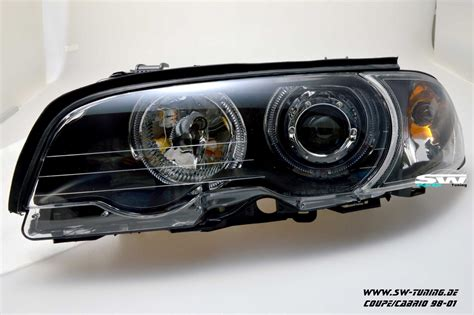 led len kaufen eye headlights bmw e46 cabrio coupe 2d 98 01 2 high