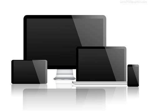 what is a template on a computer desktop computer laptop tablet and smartphone psd