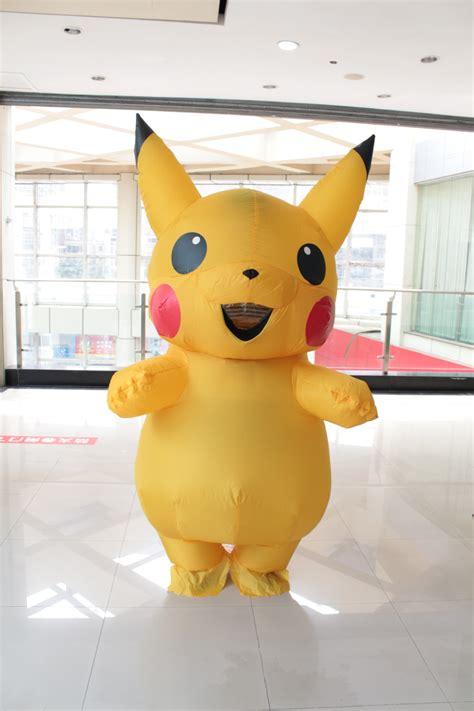 pikachu costume large mascot