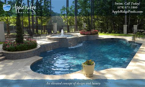 pools with spas authorized swimming pool warranty center appleridge pool