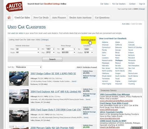 Search Advanced How To Utilize Car Search Engines