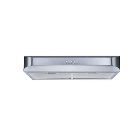 Under Kitchen Cabinet Lighting Led Winflo 30 In Under Cabinet Slim Design Range Hood In