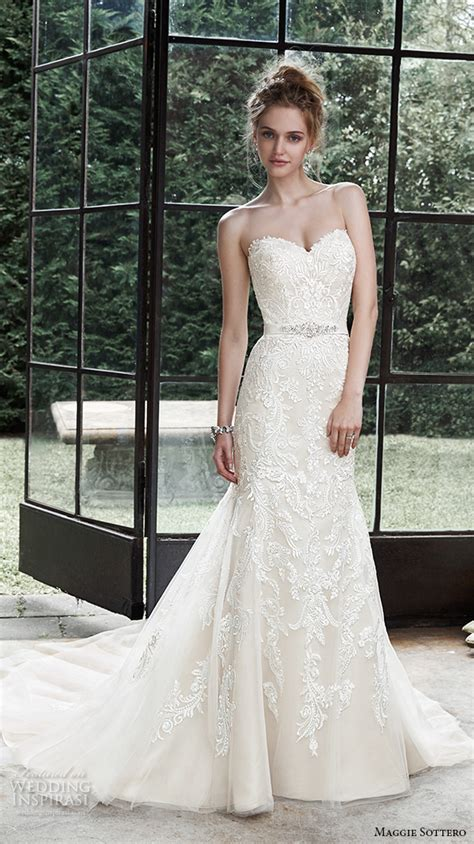 Maggie Wedding Gowns by Maggie Sottero Fall 2015 Wedding Dresses Wedding Inspirasi