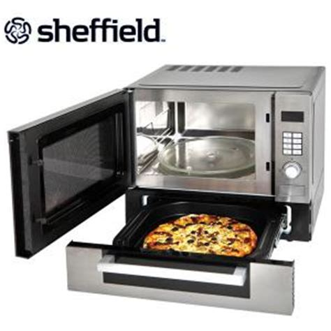 sheffield 25 litre microwave oven with pizza drawer