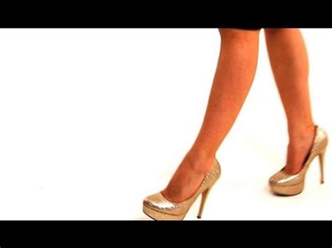 Are You Able To Walk In Heels All The Live Day by How To Walk In Stilettos High Heel Walking