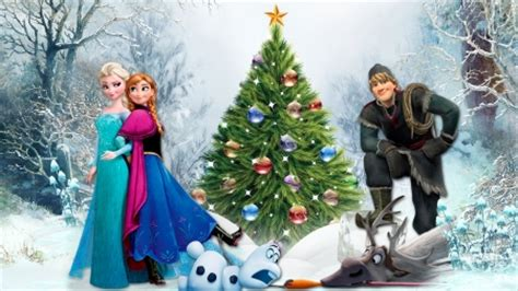 wallpaper frozen christmas frozen christmas movies entertainment background