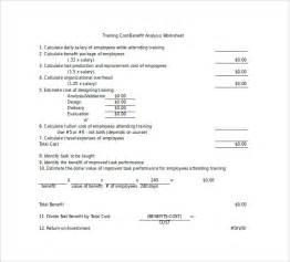 free cost benefit analysis template excel cost benefit analysis template 13 free