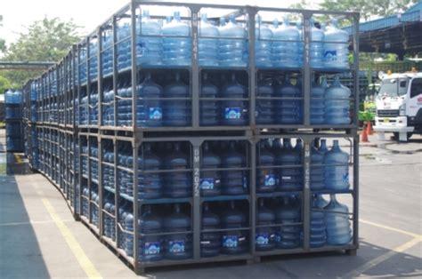 Rak Besi Galon proses produksi air minum galon yuniari nukti