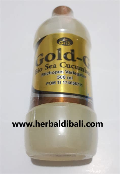 Gold G 500 Ml Gamat Gold G jual jelly gamat gold g 500 ml di denpasar bali jual