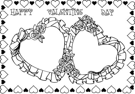 valentines day coloring pages that you can print roses valentines day coloring pages valentine coloring