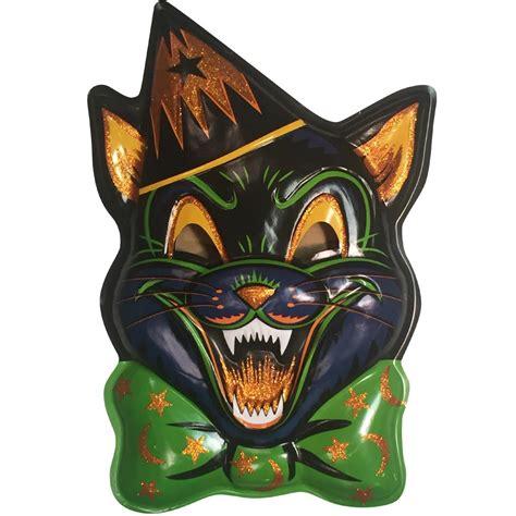 magic glitter cat vac tastic plastic mask wall decor