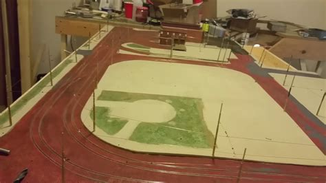 youtube layout update ho scale trolley layout update youtube