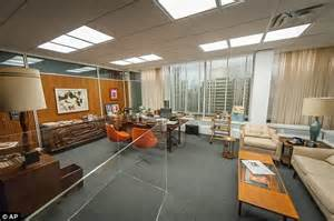 don draper s office gets new york becomes mecca for mad fans as exhibit opens