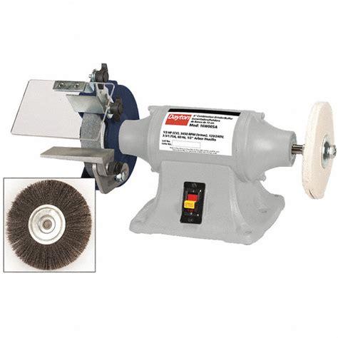dayton bench grinder parts dayton 6 quot bench grinder buffer 120 240v 1 3 hp 3450 max
