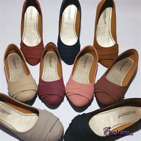 Sepatu Balet Wedges flatshoes aw42 sepatu flat wanita terbaru sepatu flat