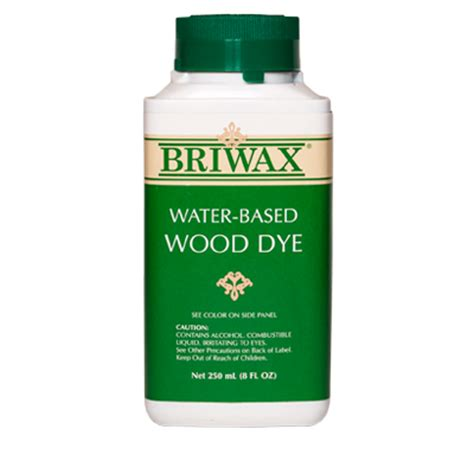 water based water based wood dye briwax international inc