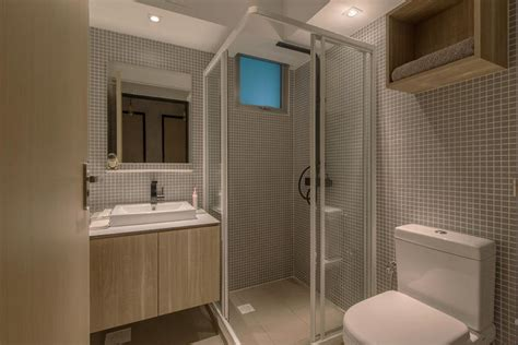 simple  modern hdb flat bathroom designs home