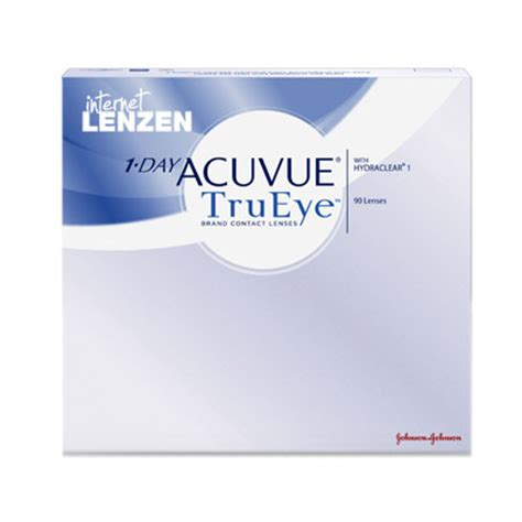 One Day Acuvue Trueye 2305 by Acuvue 1 Day Trueye 90 Pack Daily Lenses Lenzen