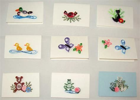 Assorted Gift Cards - quilling by marianne photo gallery