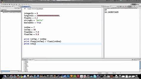 Tutorial Python 2 7 | python 2 7 tutorial part 1 youtube