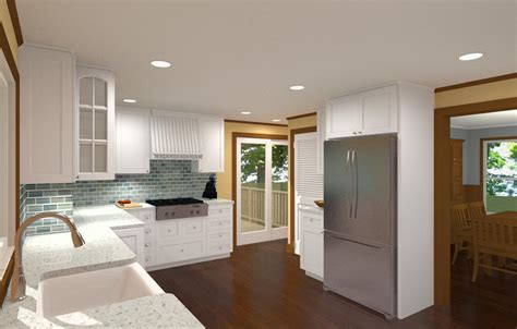 kitchen remodel for a 100 year home design build