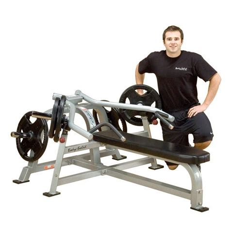 lever bench press machine body solid leverage bench press machine free shipping