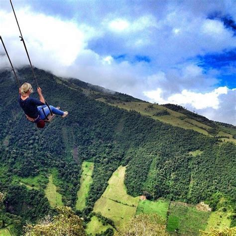 ecuador swing at the end of the world earth pics on twitter quot swing at the end of the world