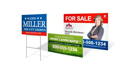 backyard signs custom yard signs