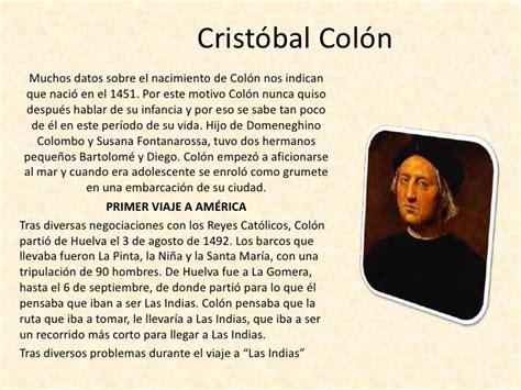 biografia cristobal colon resumen ana cristobal colon1