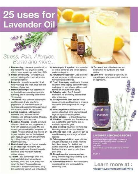 lavender oil uses tips tricks pinterest
